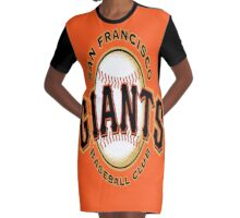 GIANTS Graphic T-Shirt Dress