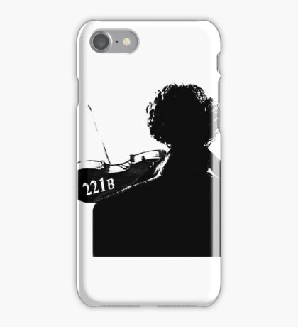 I Play the Violin When I'm Thinking iPhone Case/Skin