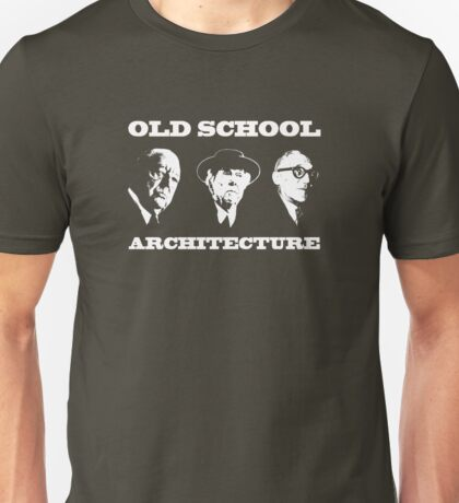Old School Architecture t shirt Unisex T-Shirt