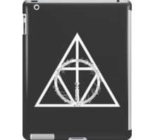 The Geekly Hallows - The Ultimate Geek T-Shirt iPad Case/Skin