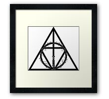 The Geekly Hallows - The Ultimate Geek T-Shirt Framed Print