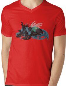 Sleepy Queen Chrysalis  Mens V-Neck T-Shirt