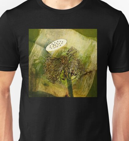 Anatomy Of A Lotus     Unisex T-Shirt