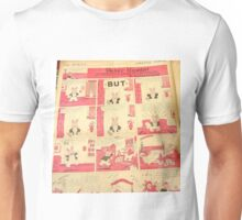 1930's comic, sunday funnies in color page Unisex T-Shirt