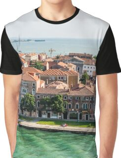 Aerial View of Venice Graphic T-Shirt
