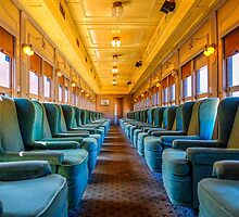 Essex Steam Train - First Class Car by Tom Piorkowski