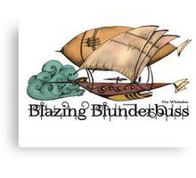 Blazing Blunderbuss Canvas Print