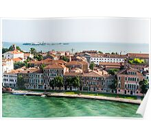 Aerial View of Venice Poster