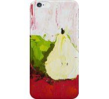 A Pear Behind iPhone Case/Skin