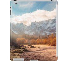 autumn sunrinse in the valley iPad Case/Skin
