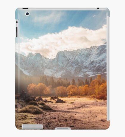 autumn sunrinse in the valley iPad Case/Skin
