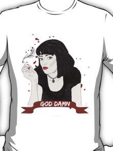 PULP FICTION's Mia Wallace  T-Shirt