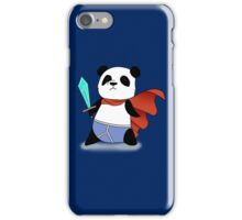 Panda Hero iPhone Case/Skin