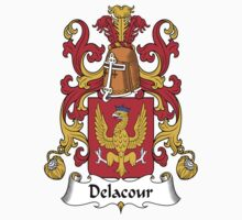 Delacour Coat of Arms (French) by coatsofarms