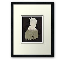 True Detective Framed Print