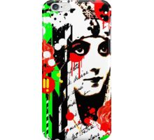 Zombie Queen of Roses iPhone Case/Skin