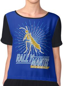 Rally Mantis Burst! Chiffon Top
