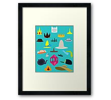Come On Grab Your Hats Framed Print