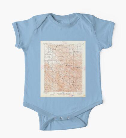 USGS TOPO Map California CA Tesla 301819 1907 62500 geo One Piece - Short Sleeve