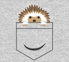 Hedgehog in your pocket! One Piece - Long Sleeve