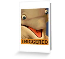 Dolphin (TRIGGERED) Greeting Card
