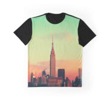 Sunset Skyscrapers Graphic T-Shirt