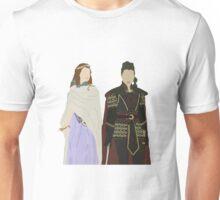 Once Upon a Time - Mulan & Aurora 'Sleeping Warrior' Unisex T-Shirt