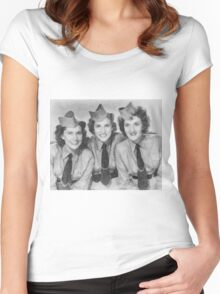 The Andrews Sisters Women's Fitted Scoop T-Shirt