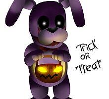 Horror Halloween Bonnie by ShinyhunterF