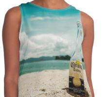Beer in the Beach Contrast Tank