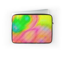 Digitally generated Multicolored abstract pattern  Laptop Sleeve