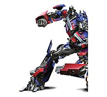transformers optimus prime Photographic Print
