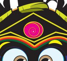 Hut Monkey Sticker