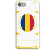 I Am A Romanian Woman Heart Sleeve Fire In Soul T-Shirt iPhone Case/Skin