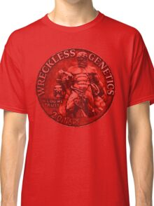 Wreckless Genetics Hercules BLOOD Coin Distressed Classic T-Shirt