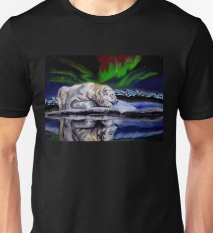 Bear reflection Unisex T-Shirt