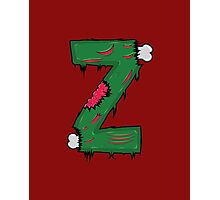 Z for Zombies Photographic Print