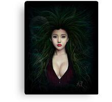 Fantasy Chinese Portrait Canvas Print