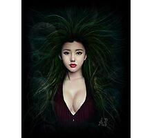 Fantasy Chinese Portrait Photographic Print