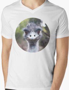 The Judging Emu - Comical Animals - Australia Mens V-Neck T-Shirt