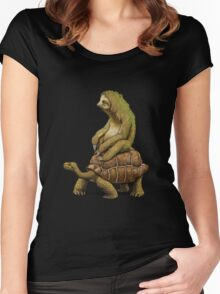 Speed is Relative Women's Fitted Scoop T-Shirt