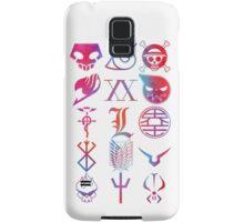 Anime Logos Samsung Galaxy Case/Skin