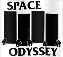 2001 Space Odyssey x Black Flag Mashup Poster