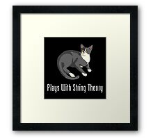 Plays With String Theory Framed Print