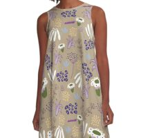 Flourishing Land - Mid season on the hill collection  A-Line Dress