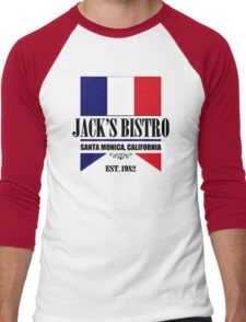 Jack's Bistro - Three's Company T-Shirt (Modern Re-Design) Men's Baseball ¾ T-Shirt