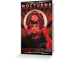 Poster for Nocturne | Anna May Wong Greeting Card