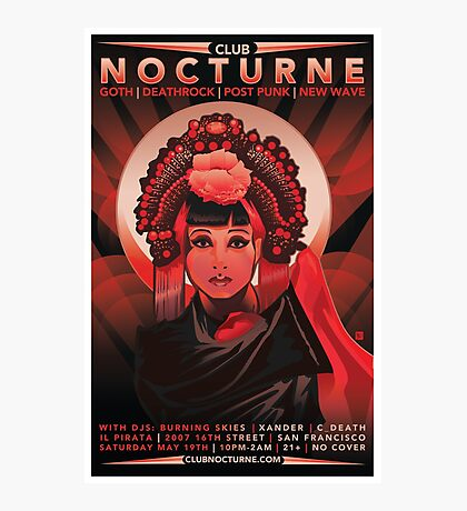 Poster for Nocturne | Anna May Wong Photographic Print