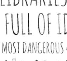 Libraries Sticker