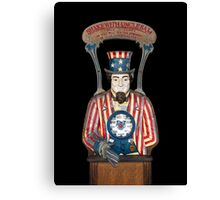 Shake With Uncle Sam Canvas Print